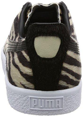 "Puma Clyde Suits ""Zebra"" Schwarz"