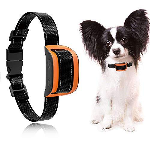 MASBRILL Collar antiladridos para Perros pequeños y medianos - Sonido vibración Perro...