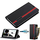 D-Kandy Elegant Stylish Pu Leather Flip Wallet Cover Case for Xiaomi Redmi 3s & 3s Prime