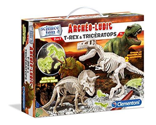 Clementoni - A1503085 - Jeu Scientifique - Triceratops Trex