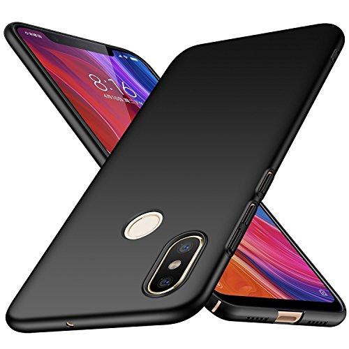TopACE Cover Xiaomi Mi 8 Custodia Xiaomi Mi 8 SE Ultra sottile che cade superficie protettiva opaca Custodia per Xiaomi Mi 8 SE (Nero)