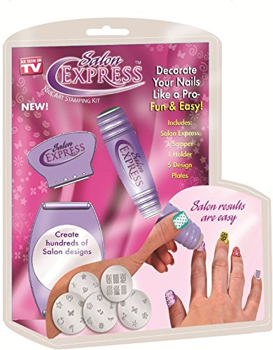 Ezzideals Nail Polish Art Kit Stamping Design Decals Paint Stamp
