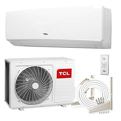 TCL KA 24000 BTU Split Klima Klimaanlage Klimagerät A++ (6.4 kW, 4m Leitungen, Halter, Goldbeschichtung)
