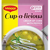 Maggi Soup Corn and Pepper, 15g (Pack of 10)