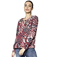 ONLY women's Riley Blouse in Peyote, Size: 40 EU (Manufacturer Size:Large)