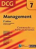 Management - épreuve 7 - DCG corrigés (French Edition)