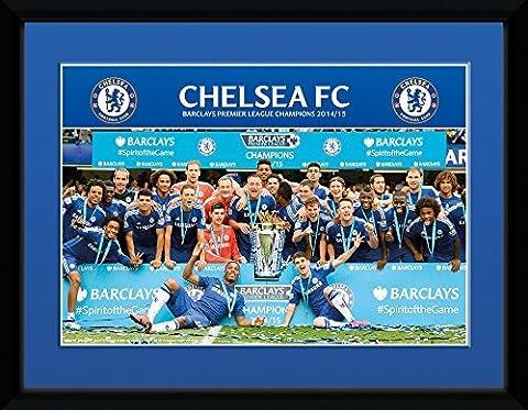 GB eye, Chelsea, Premier League Winners 14/15, Photographie encadrée , 20x15 cm