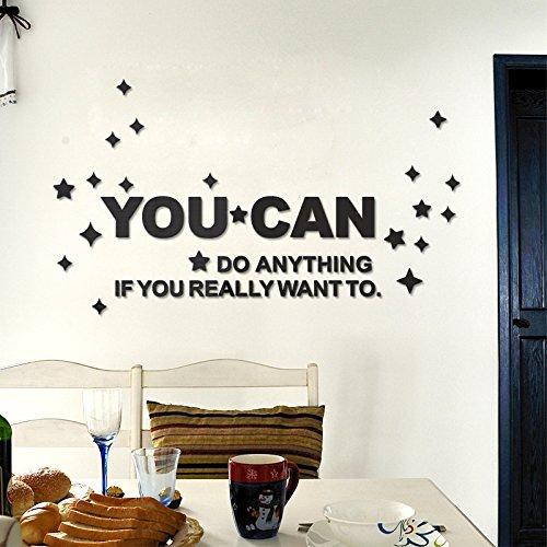 Tapetensticker 3d Wandbild abnehmbare Wand Aufkleber für Wand und Decke Home Decor für Kinderzimmer Kinderzimmer Esszimmer Badezimmer (YM-9473)