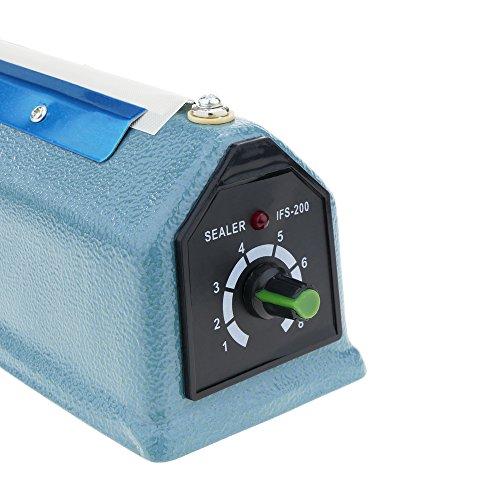 Cablematic Impuls Schweißgerät Metall Gehäuse Taschen Verschweißen 20 cm 200 mm - 3