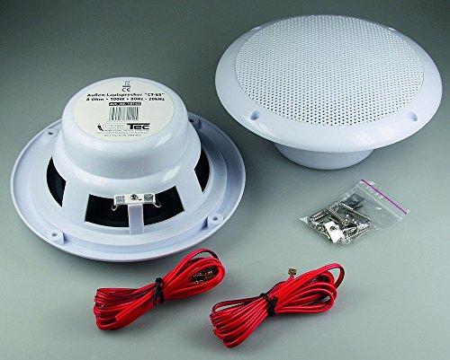 wasserfeste Außen-Lautsprecher ''CT-65'', 8 Ohm, 6,5'', 100W, 80Hz-20KHz, PAAR