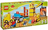 Lego 10813 Duplo Große Baustelle, Ideales Spielzeug fuer Kleinkinder, große Bausteine