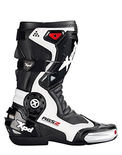 SPIDI Sport S.r.l. (EU) XPD - Stivali da Moto XP7-R, Nero/Bianco, 48