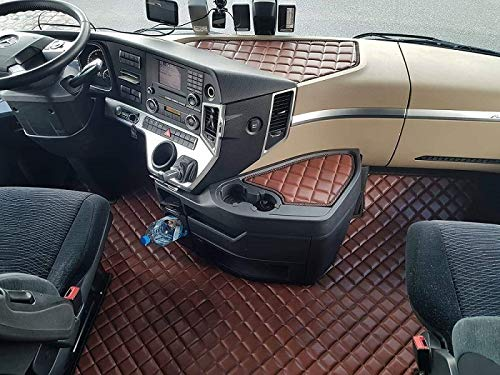KRAM-TRUCK Mercedes ACTROS MP4 - Sillón Plegable, alfombras, camión, camión