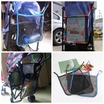 neue Baby-Kinderwagen Stroller Netz Carry Bag Hanging Pram Taschen-Speicher-Net Bag -