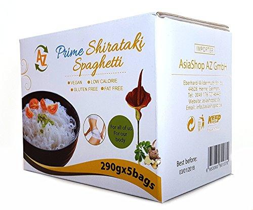 TOP Angebot Konjaknudeln aus Konjak – AZ Prime Shirataki Nudeln – Die Nudeln (Diät, Vegan, Low Carb) sind fettfrei, glutenfrei, kalorienarm, kohlenhydratearm.