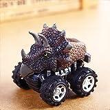 Kinder Kreativ Mini Dinosaurier Fahrzeug Wind Up Spielzeug Cute Pädagogische Spiel Auto Spielzeug Great Christmas Halloween Neujahr Geschenk für Kinder