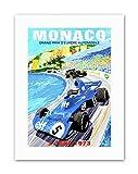 Wee Blue Coo LTD Motor Monaco Grand Prix 1973 New Poster