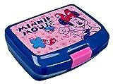Scooli MIHL9900 - Brotzeitdose, Disney Minnie Mouse, ca. 16,5 x 13 x 7 cm