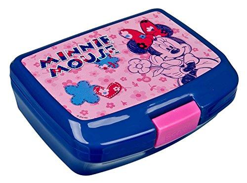 Scooli MIHL9900 Micky Maus und Freunde Ja Brotzeitdose, Disney Minnie Mouse, ca. 16,5 x 13 x 7 cm