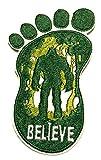 Bigfoot Lives - Believe - Autocollant en vinyle pour voiture - Autocollant X-Files - Type UFO - Soucoupe Alien Science Fiction Humour Comics - Horreur - Cryptids Créatures Monster Emblème Application