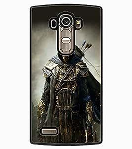 ColourCraft The Warrior Design Back Case Cover for LG G4