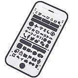 Amupper IOS UI UX Vorlagen Größe für iPhone Interaktiven Design, metall