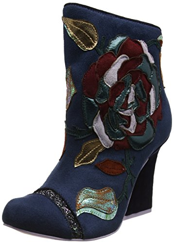Blu Navy Choice Donna Classici Stivali Irregular Theodore pa0I4xq