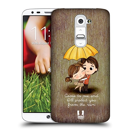 Head Case Designs Protect You From Rain Cute Emo Love Cover Retro...