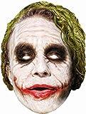 Rubie's The Dark Knight Rises Maske The Joker Pappmaske Karneval Fasching
