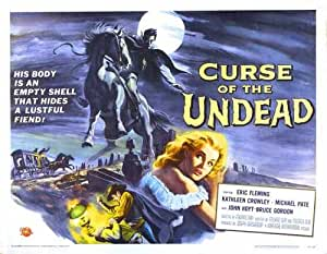 Curse Of Undead Poster 02 A3 Box Canvas Print