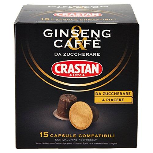 Crastan caffè Ginseng & Kaffee Nespresso pads kaffeepads Kapseln KAFFEEKAPSELN