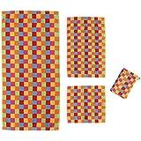 Cawö Handtücher Life Style Karo 7017 Gästetuch 30x50 cm