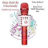 Wireless Karaoke Microphone - NASUM 3-in-1 Portable Built in Bluetooth 4.1 Speaker Machine