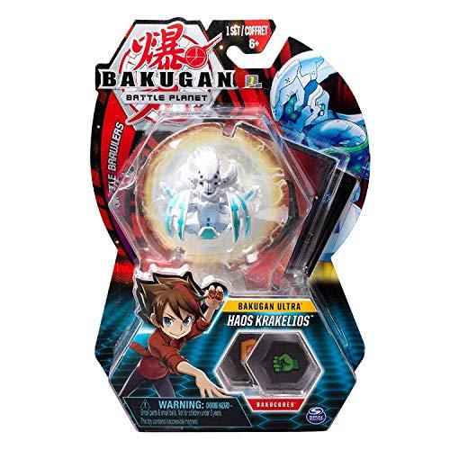 BAKUGAN Deluxe Ultra 1 Pack 3 Inch Figure Haos Krakelios