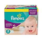 Pampers Active Fit Couches Taille 3 Essential Pack 120 par paquet