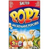 Popz Microondas palomitas saladas 3 x 100g