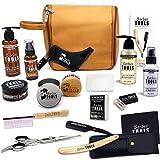 Kit/Set/Coffret d'entretien et de soin pour barbe et rasage avec Soin de barbier |...
