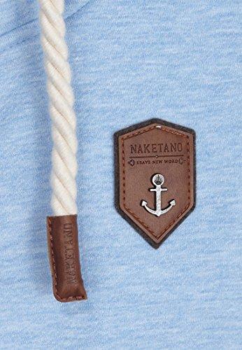 Naketano Male Zipped Jacket Ivic VIII Amazing blue Melange