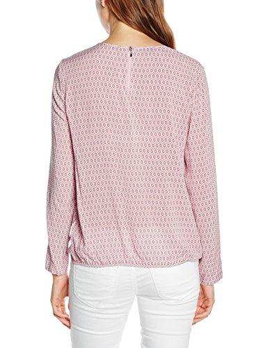 GERRY WEBER Damen Bluse Mehrfarbig (Rose/Mauve Druck 3108)