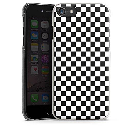 Apple iPhone 6s Plus Silikon Hülle Case Schutzhülle Schachbrett Ska Quadrat Hard Case transparent