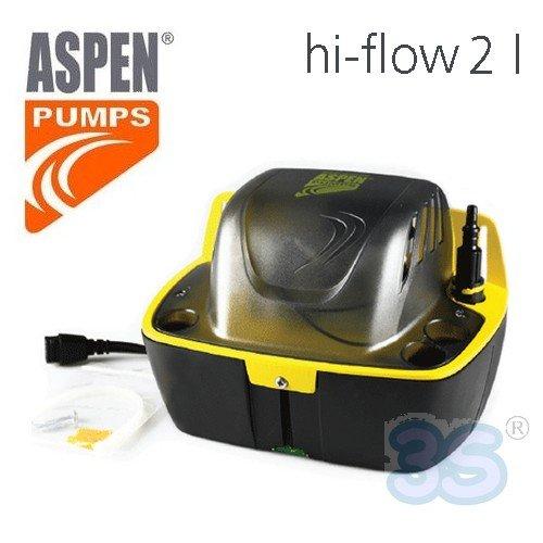 ASPEN High Flow 2L Kondensatpumpe mit Tank für Bautrockner Luftentfeuchter Klimaanlagen