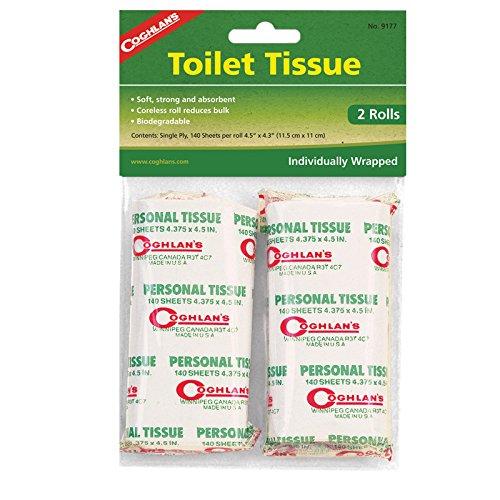Coghlans Toilettenpapier Weiß weiß 2er-Pack