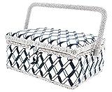 Organizador de cesta de costura para agujas, alfileres, cinta métrica,...