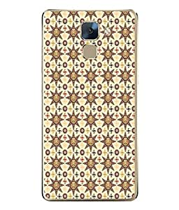 PrintVisa Designer Back Case Cover for Huawei Honor 7 :: Huawei Honor 7 (Enhanced Edition) :: Huawei Honor 7 Dual SIM (Abstract Illustration Sketch Colorful Decorative Vector Graphic)