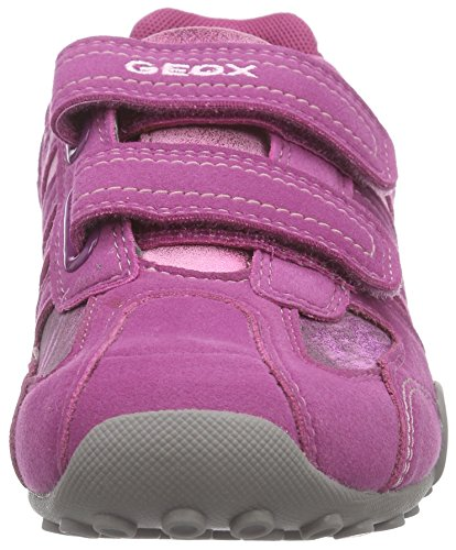 Geox - Jr Snake Girl A, Sneaker Bambina Rosa (Pink (C8002FUCHSIA))
