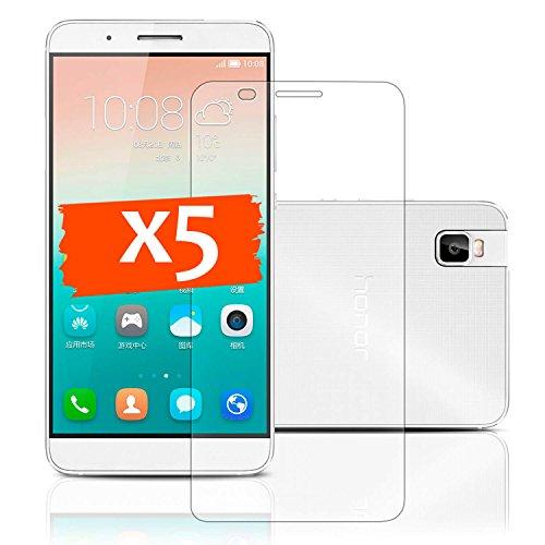 LetiStore Schutzfolie Für Huawei Honor 7i Folie Bildschirm Schutz - 5х Klare Handy Bildschirmfolie - Folie Ultra Transparent
