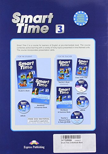 Smart Time 3 Workbook Book