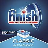 Finish/Calgonit Classic Sparpack, Spülmaschinentabs, Spülmaschine, Geschirr, Geschirrspüler, Spülen, Reinigung, 154 Tabs -