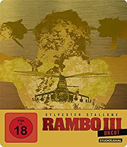 Rambo III / Uncut / Limited SteelBook Edition [Blu-ray]