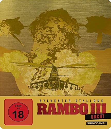 Rambo III / Uncut / Limited SteelBook Edition [Blu-ray]